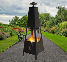 Feuerkorb Terassenfeuer Garten Holz Ofen Kamin Feuerschale