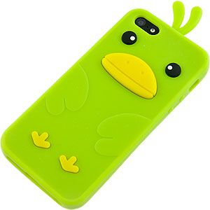 #Cute Duck Cover Case for Apple #iPhone 5, Cool Green $12.99 From #DayDeal