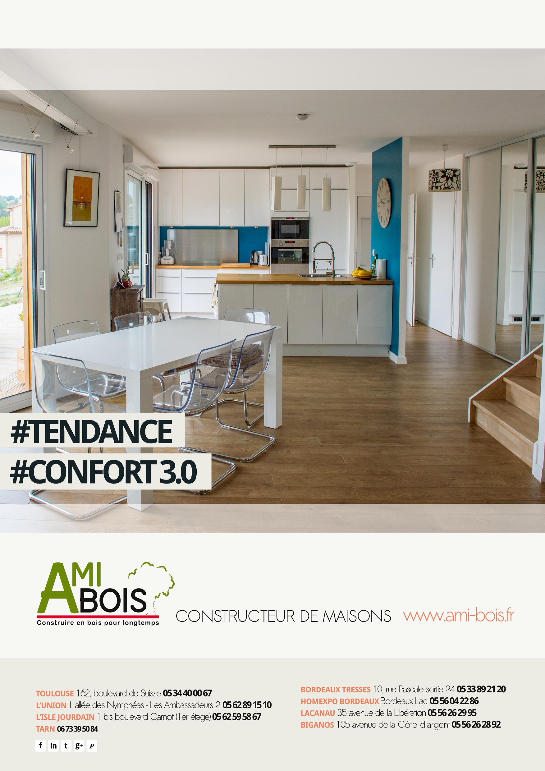 AMI BOIS Constructeur de maisons TENDANCE CONFORT 3 0