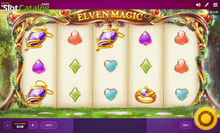 Elven Magic Slot Review, Bonus Codes & where to play from