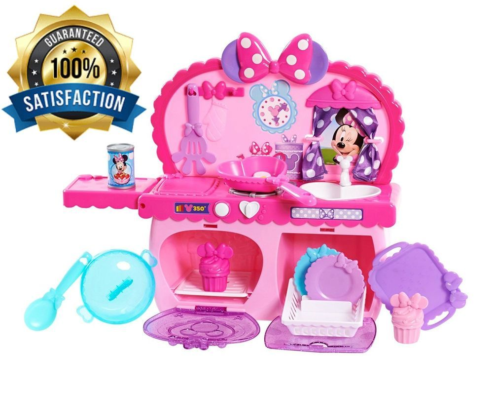 Minnie Mouse Kitchen Cooking Games For Kids Playsets For Girls