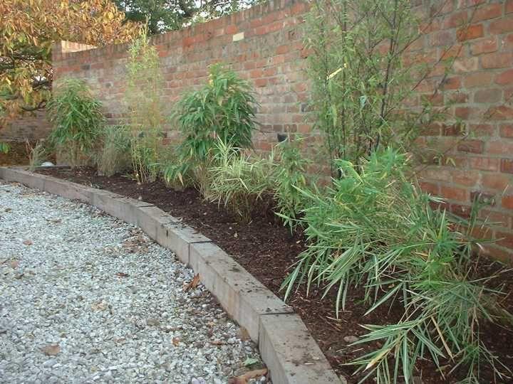 Kilgraney railway sleeper landscaping - raised beds | Ideas for ...