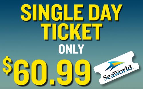 Seaworld Single Day Any Day Tickets Seaworld San Antonio In 2020