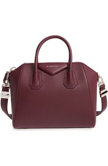 Givenchy Small Antigona Leather Satchel Available At Nordstrom