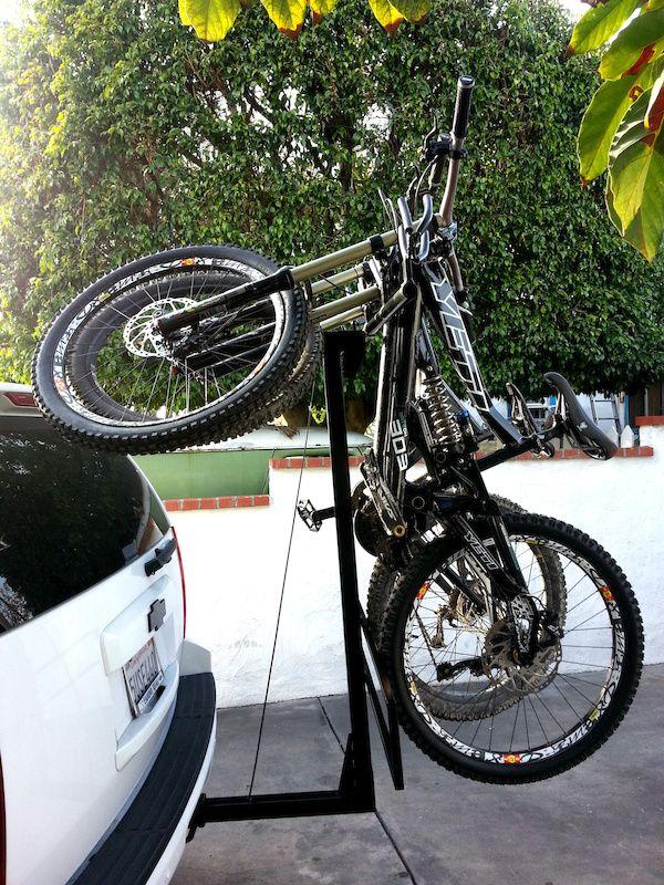 Post Your Custom Bike Racks Page 2 Pinkbike Forum Car Bike Rack Bike Hitch Bike Rack