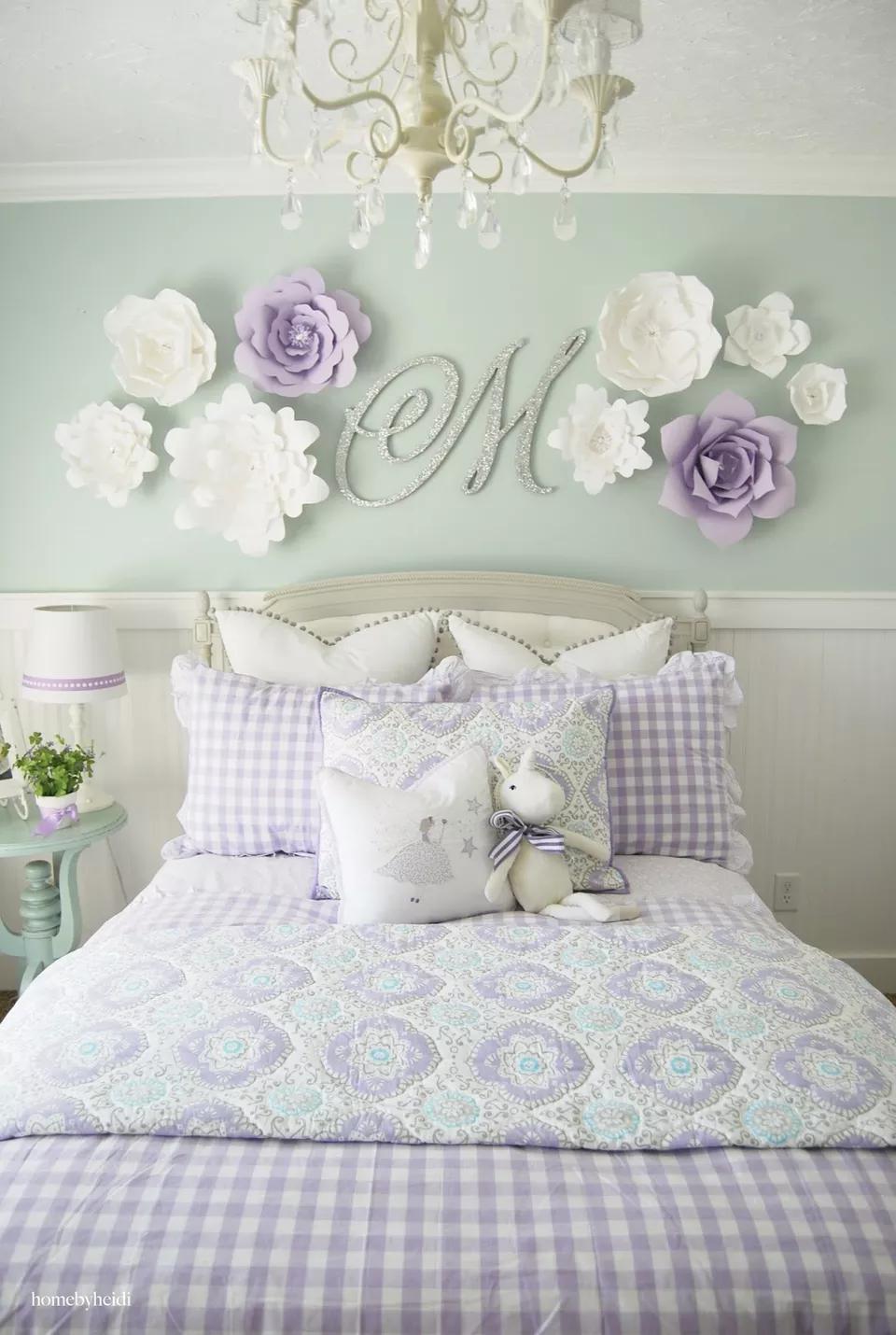 24 Wall Decor Ideas For Girls Rooms Girls Room Paint Diy Girls Bedroom Girl Room