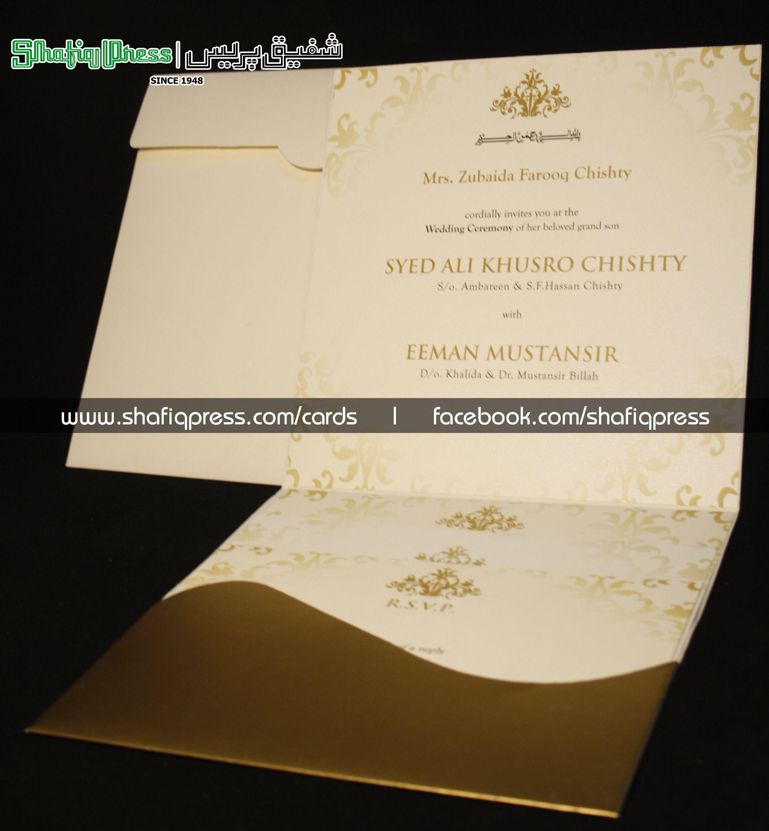 Wedding Cards Printing Press Karachi Wedding O