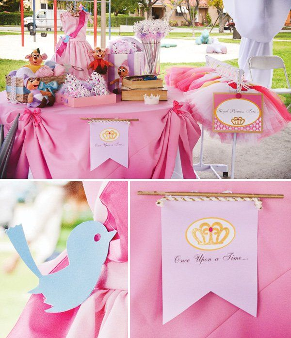 Dress-Inspired {Disney} Princess Birthday Party | Princess birthday ...
