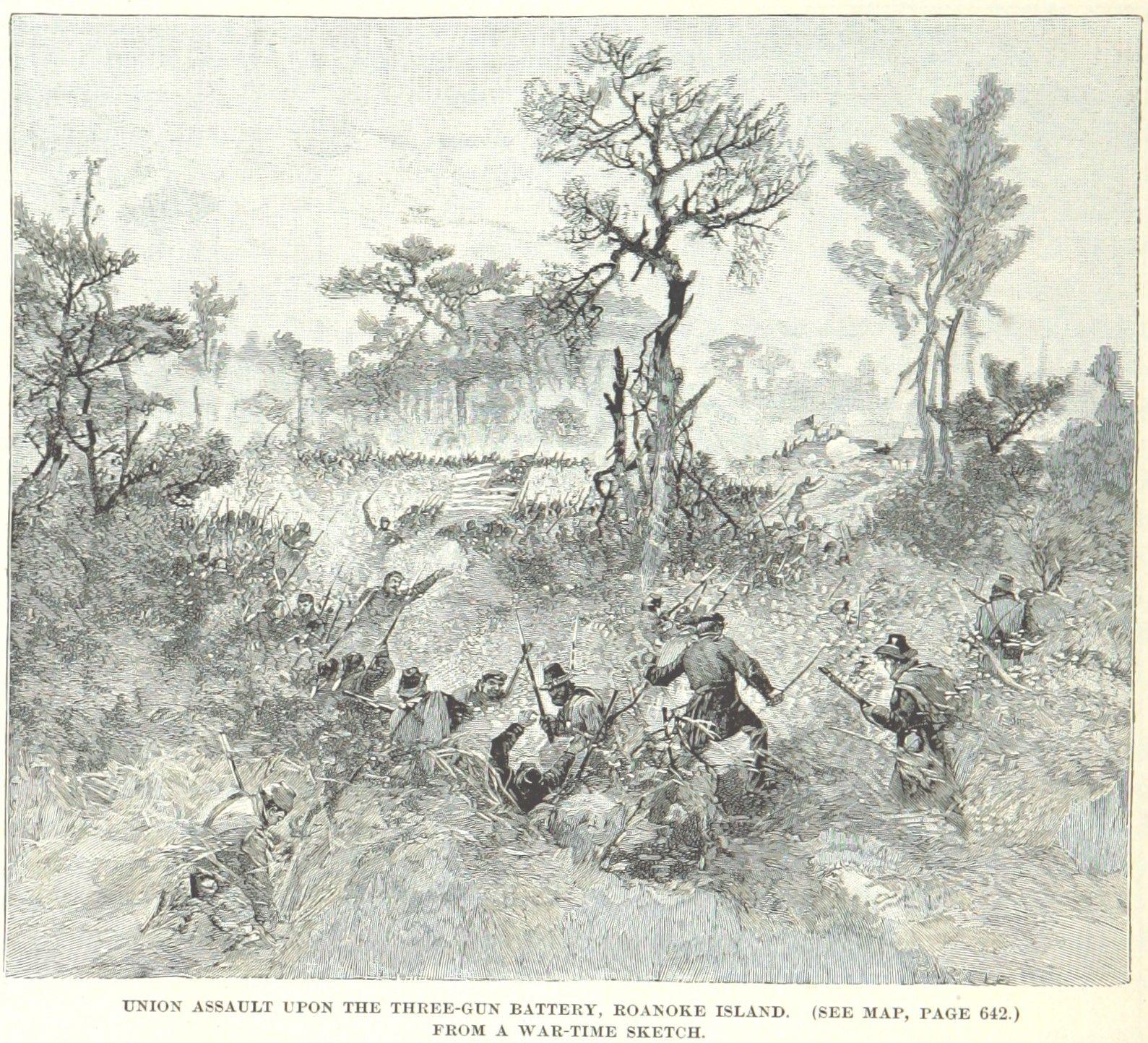 February 8 1862 roanoke island north carolina