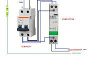 Como Conectar Contactor Bipolar Esquemas Electricos Proyectos Eléctricos Diagrama De Instalacion Electrica
