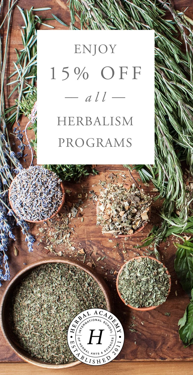 Herbalism Curriculum – from the Roots of Herbalism through ...