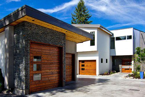 Kellet Project Garage Design Contemporary Garage Doors Garage Doors
