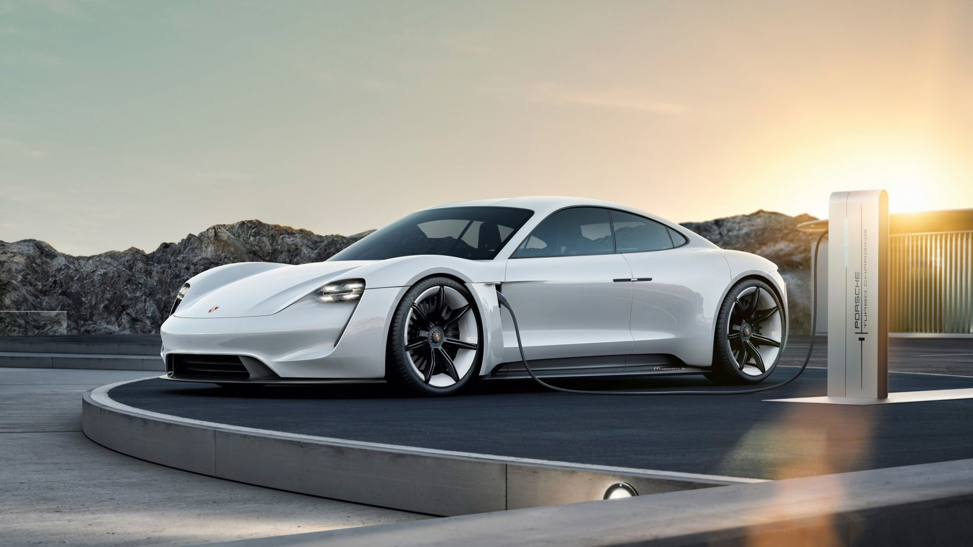 Porsche Taycan Electric Car Supercar 2020 Cars 4k Horizontal Porsche Mission Porsche Taycan Mission E