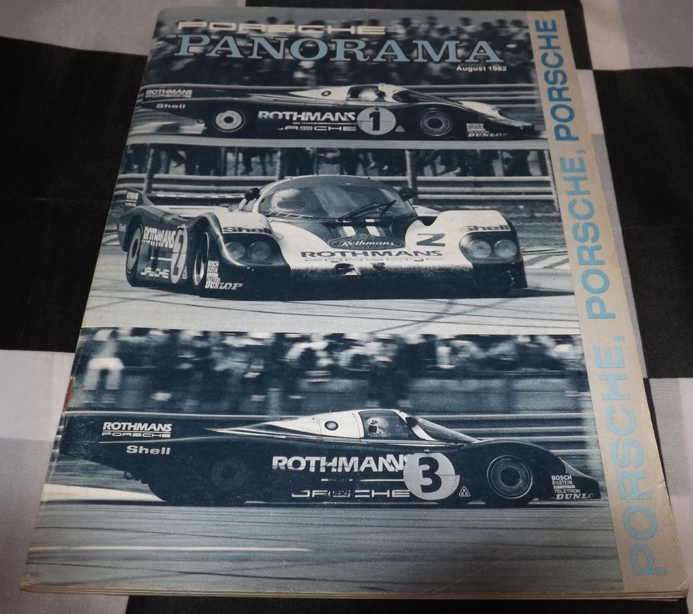 Panorama Porsche Car: PANORAMA PORSCHE USA MAGAZINE AUGUST 1982 VOL 27 NO.8 LE