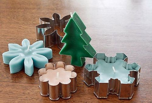 Cookie Cutter Candles