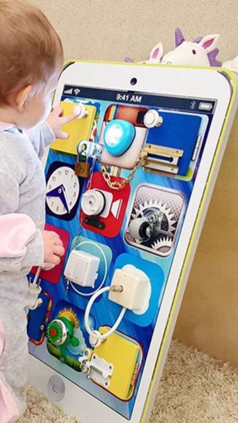 Busy Boards For Toddlers Do It Yourself Activity Board Pictures