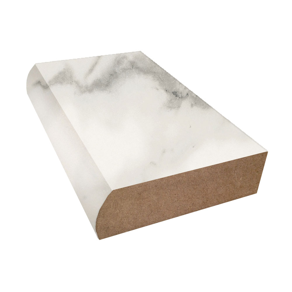 Calacatta Marble Etchings Bullnose Laminate Trim Formica 3460 Laminate Countertops Formica Laminate Ogee Edge
