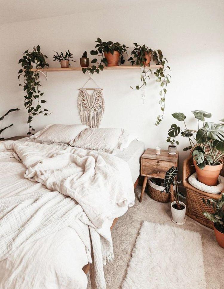 Boho Bedroom Macrame Plants Bedroom Interior Aesthetic Bedroom Home Decor