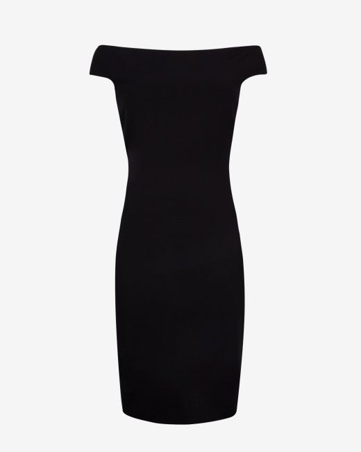 Bardot neckline bodycon dress - Black | Dresses | Ted Baker