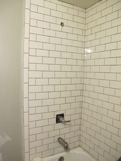 Tile Installed Tile Edge Tile Bathroom Bathroom Tile Designs