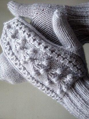 схемы узоров для варежек вязание другое рукоделие варежки
