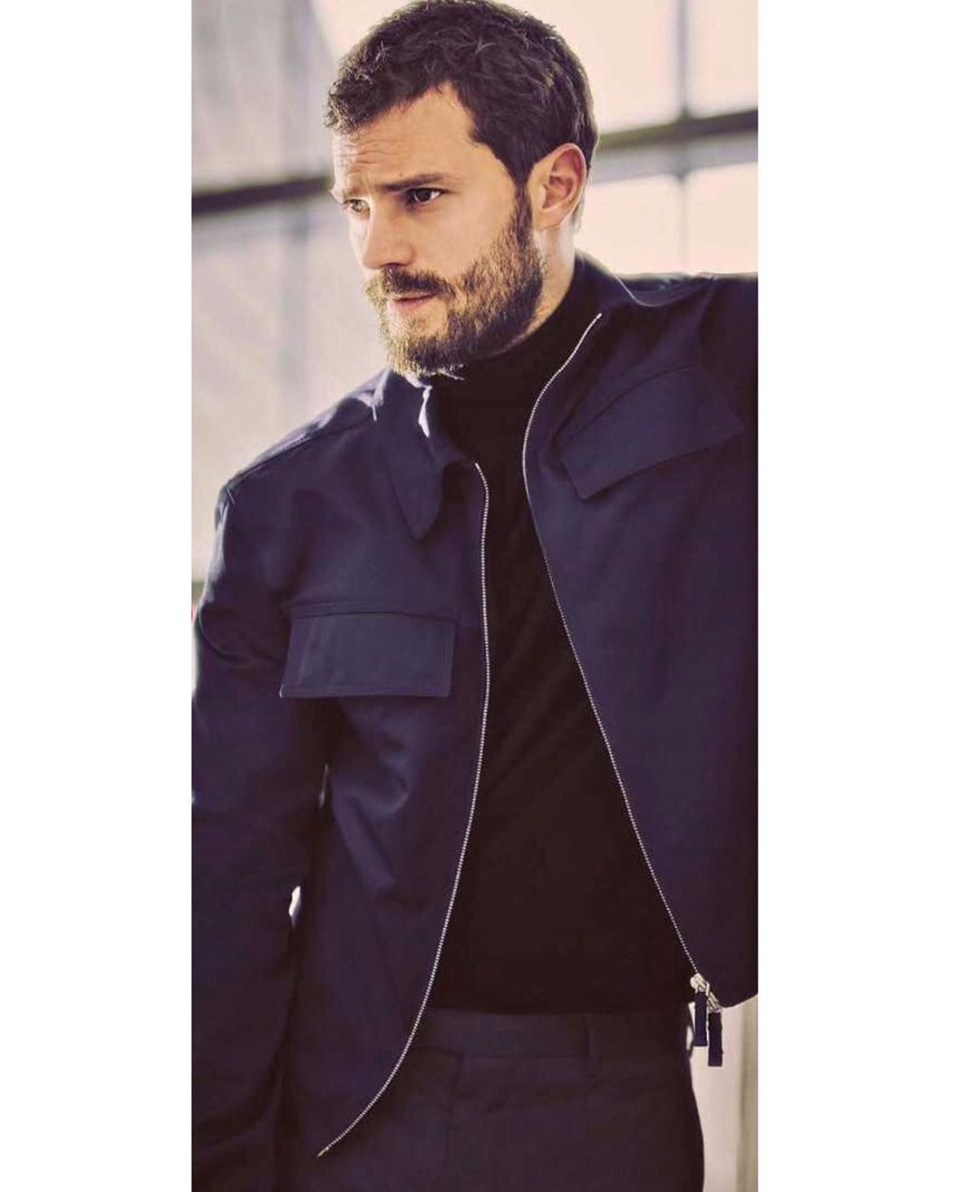 """Jamie Dornan FAN PAGE on Instagram: """"Jamie's new interview for @glamouritalia , where he talks about his new films, @boss , daughters and on the foundation @n.i.panc…"""""""