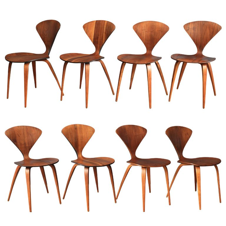 set of eight vintage cherner dining chairs pinterest dining