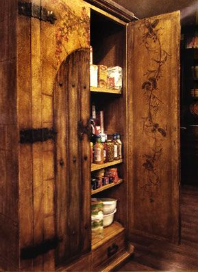 Exceptional Rustic Kitchen · I Love This Pantry. Would Love To Make This Back Loading  From The Walk