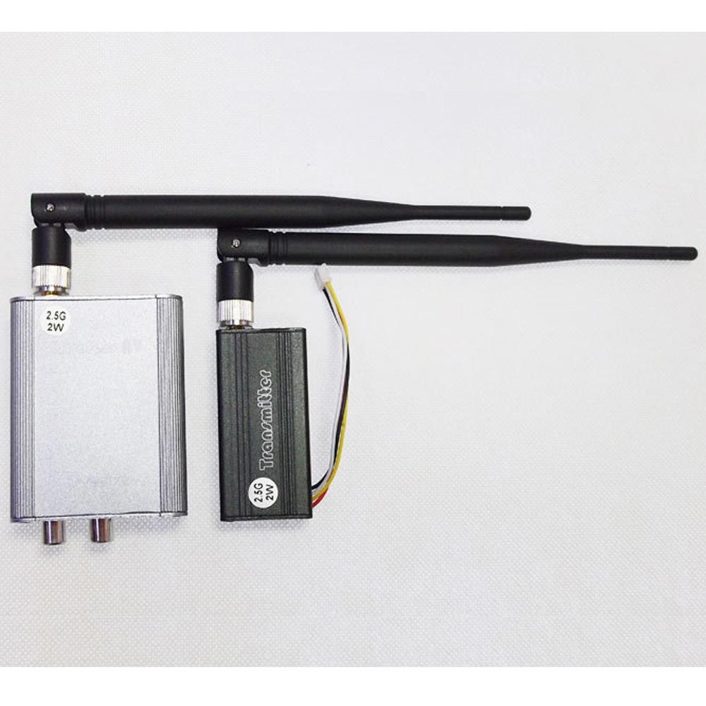 57.99$  Buy here - http://ali7bt.worldwells.pw/go.php?t=1961687602 - 2W/2000mw 2.5G 4-CH 4 channel Wireless Video Audio AV Transmitter Receiver Sender PAL/NTSC for FPV CCTV camera 57.99$