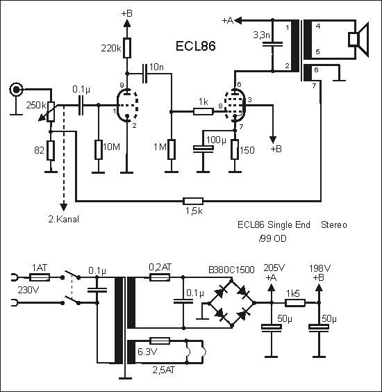 the small ecl86 amp  von stefan gloeden
