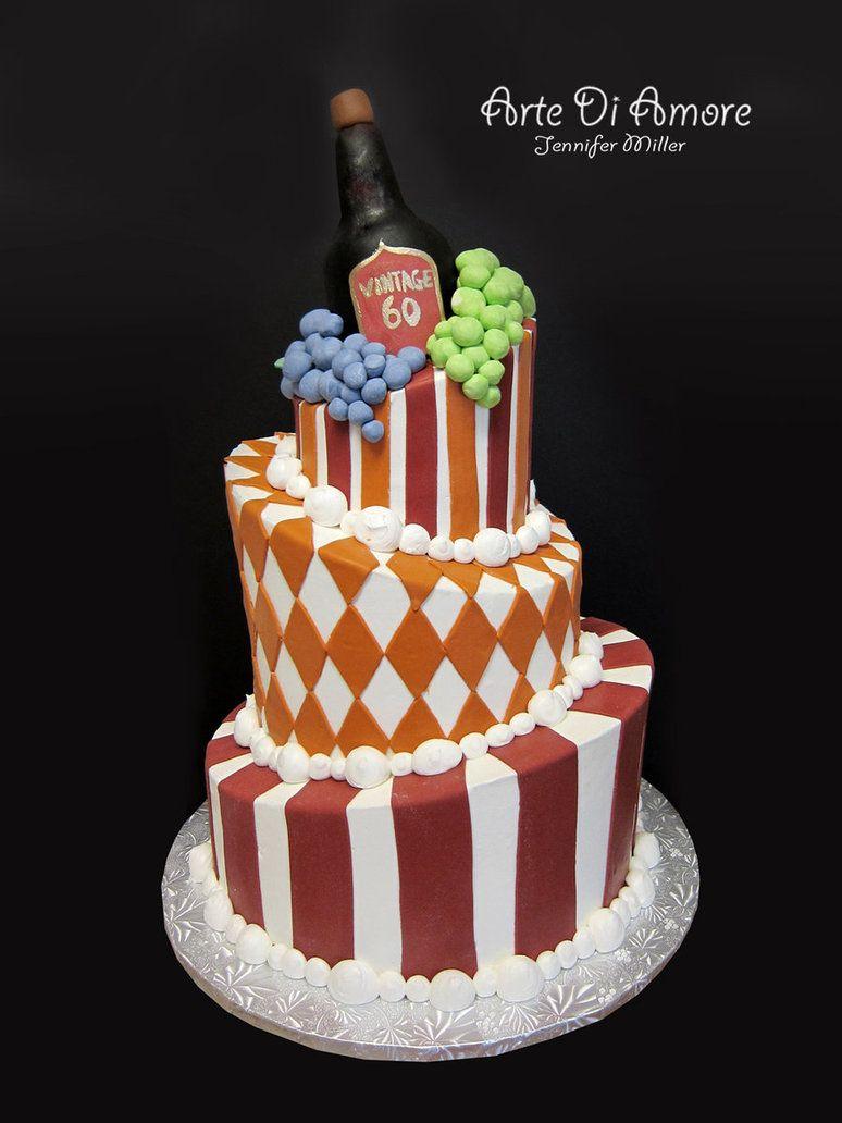 Wine Bottle Cake By Artediamore On Deviantart Cakes Pinterest