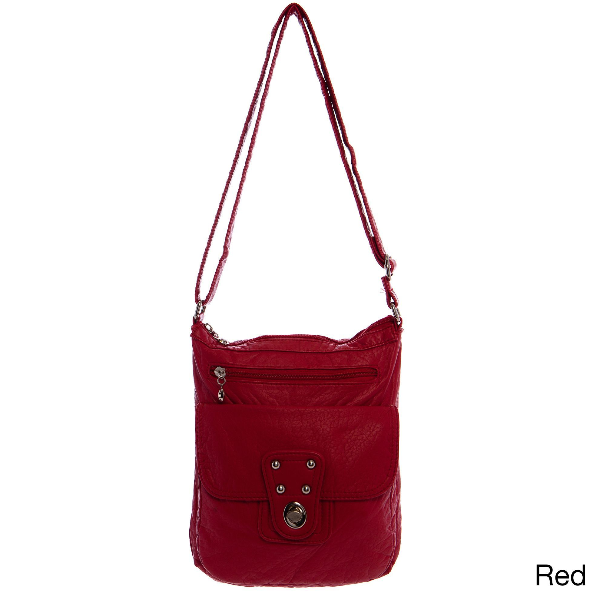 Stacy Vegan Extra-large Crossbody Handbag, Women's