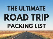 What to Pack for a Road Trip: The Ultimate Road Trip Packing List - The Savvy Gl ...   - camp guidebook #ultimatepackinglist