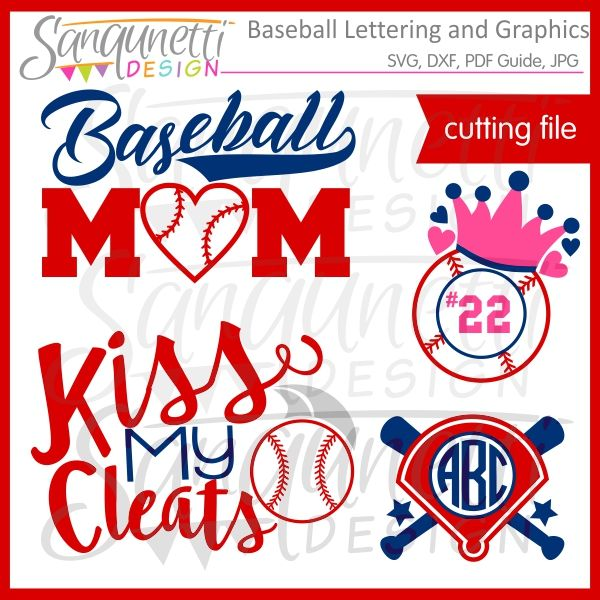 Download Sanqunetti Design: Baseball Lettering SVG (With images ...