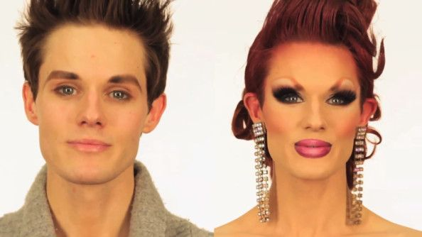 Watch Ivy Winters Amazing Before And After Drag Queen