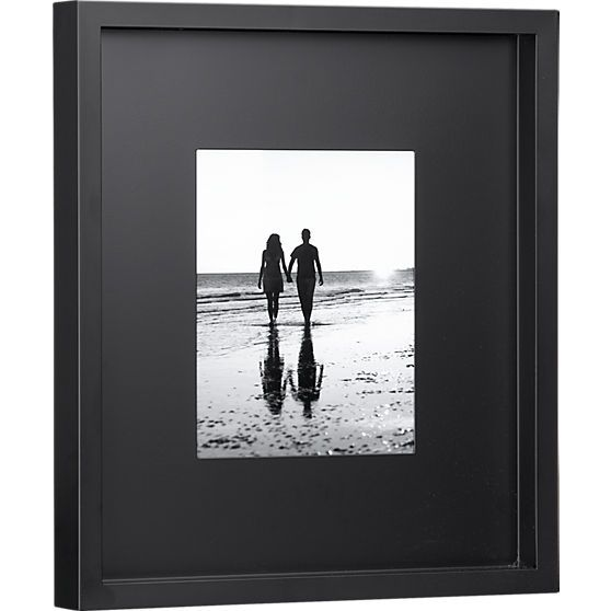 Black Matte 8x10 Picture Frame Cb2 Decorating Ideas Pinterest