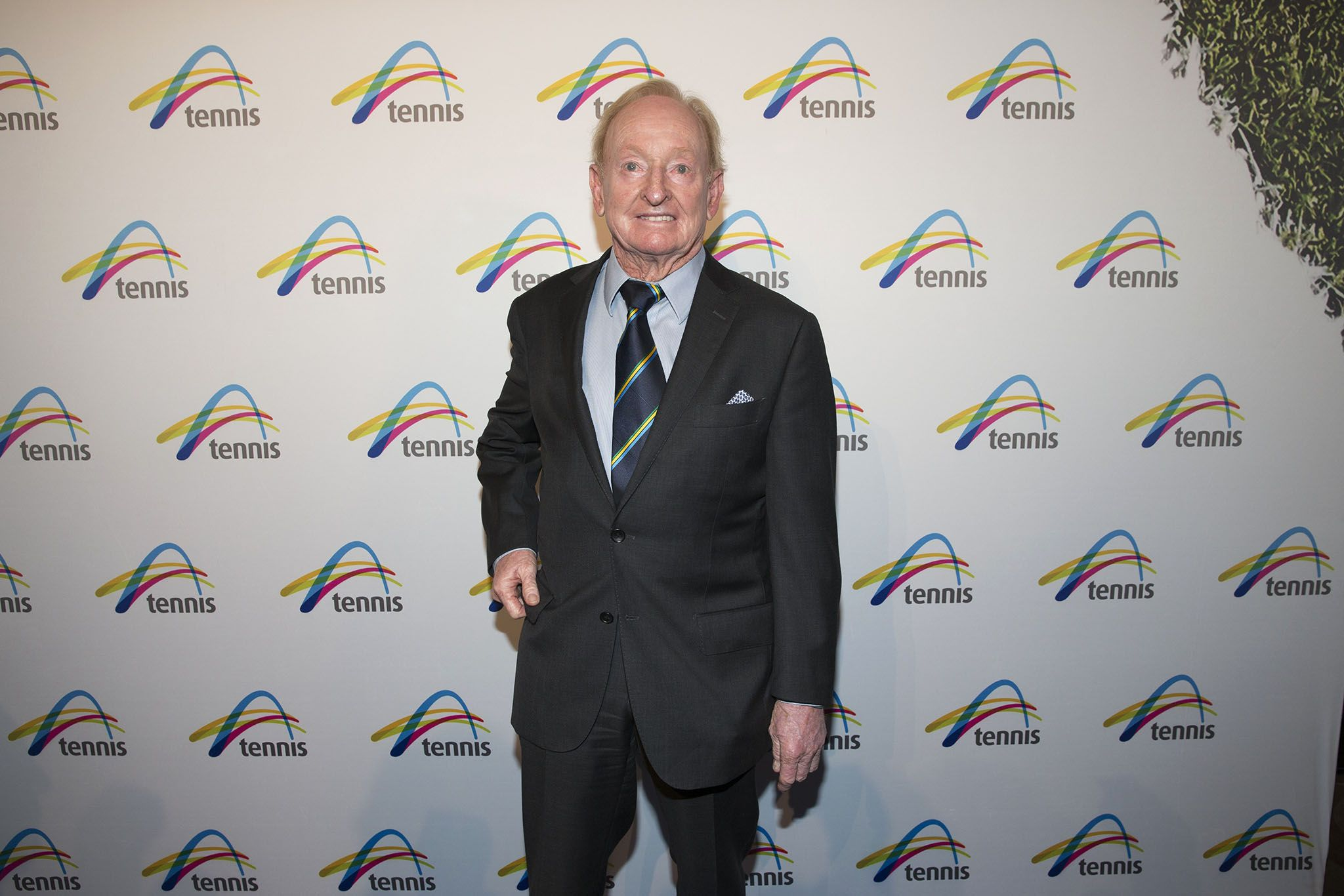 GOAT Rod Laver was one of the Legends of the game who joined in
