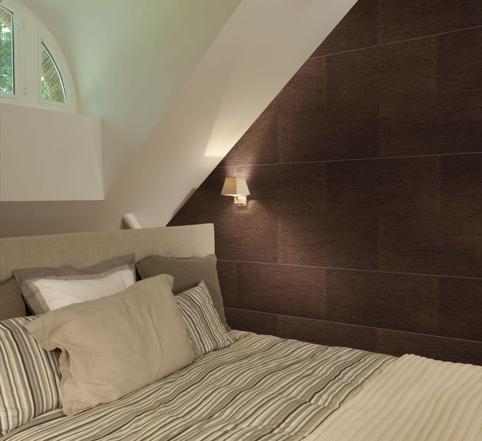 wand in kurk tijdloze eenvoud slaapkamer kurk wand kurk in