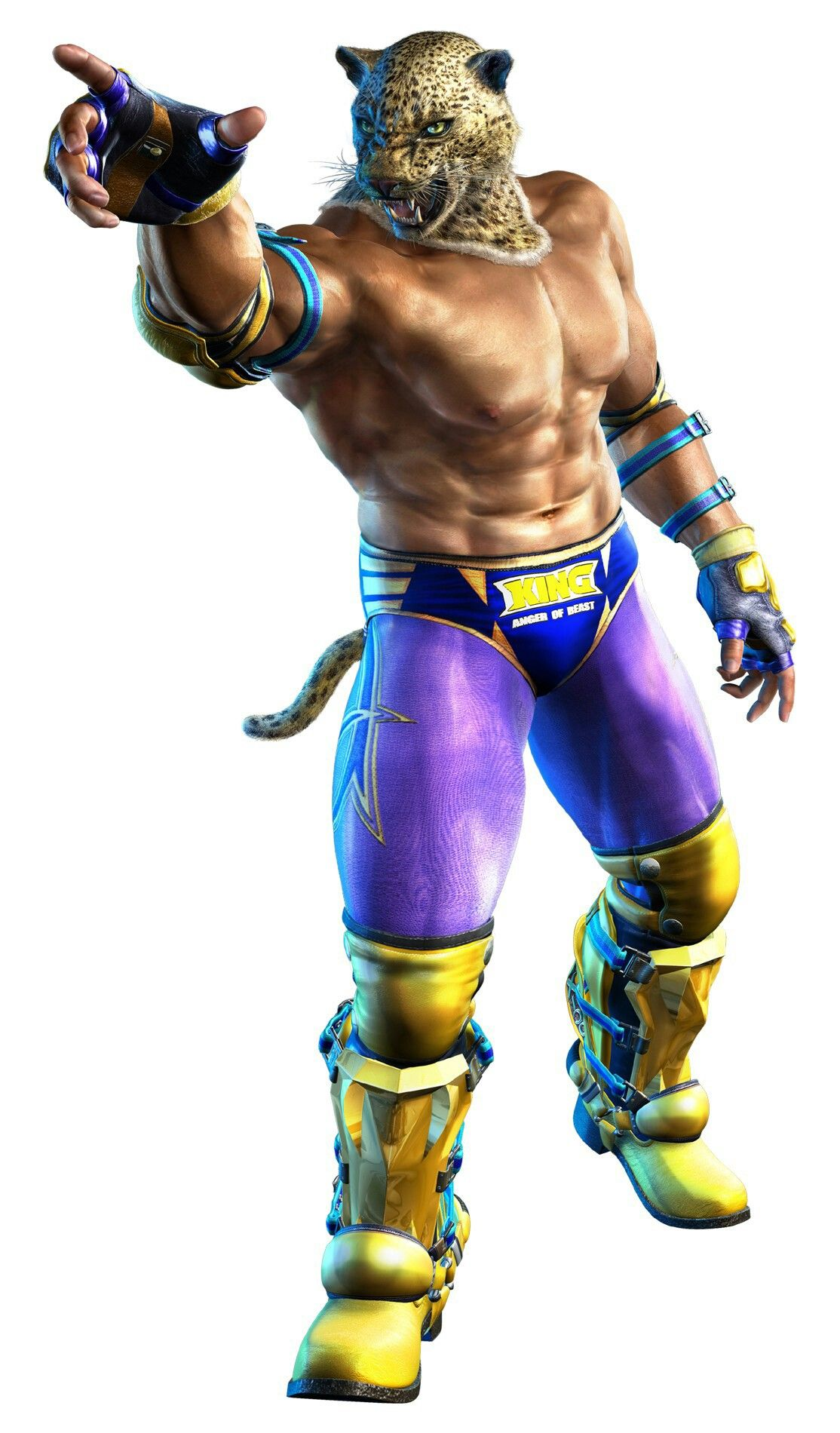 King Tekken Tag 2 Personajes De Videojuegos Juego De Pelea