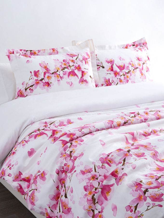 Cherry Blossom Comforter Set From Spring Into Bed Floral Bedding Comforter Sets Comforters Beautiful Bedrooms