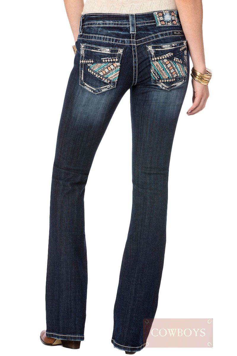 719a795f1b394 calça jeans Feminina Miss me Lantejoulas calça jeans feminina da marca  importada Miss Me. Modelo diferenciado com bordado multicores, apliques e  lantejoulas ...