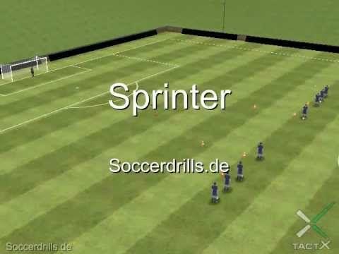 Pass In Die Gasse Passen Soccerdrills De Fussballtraining