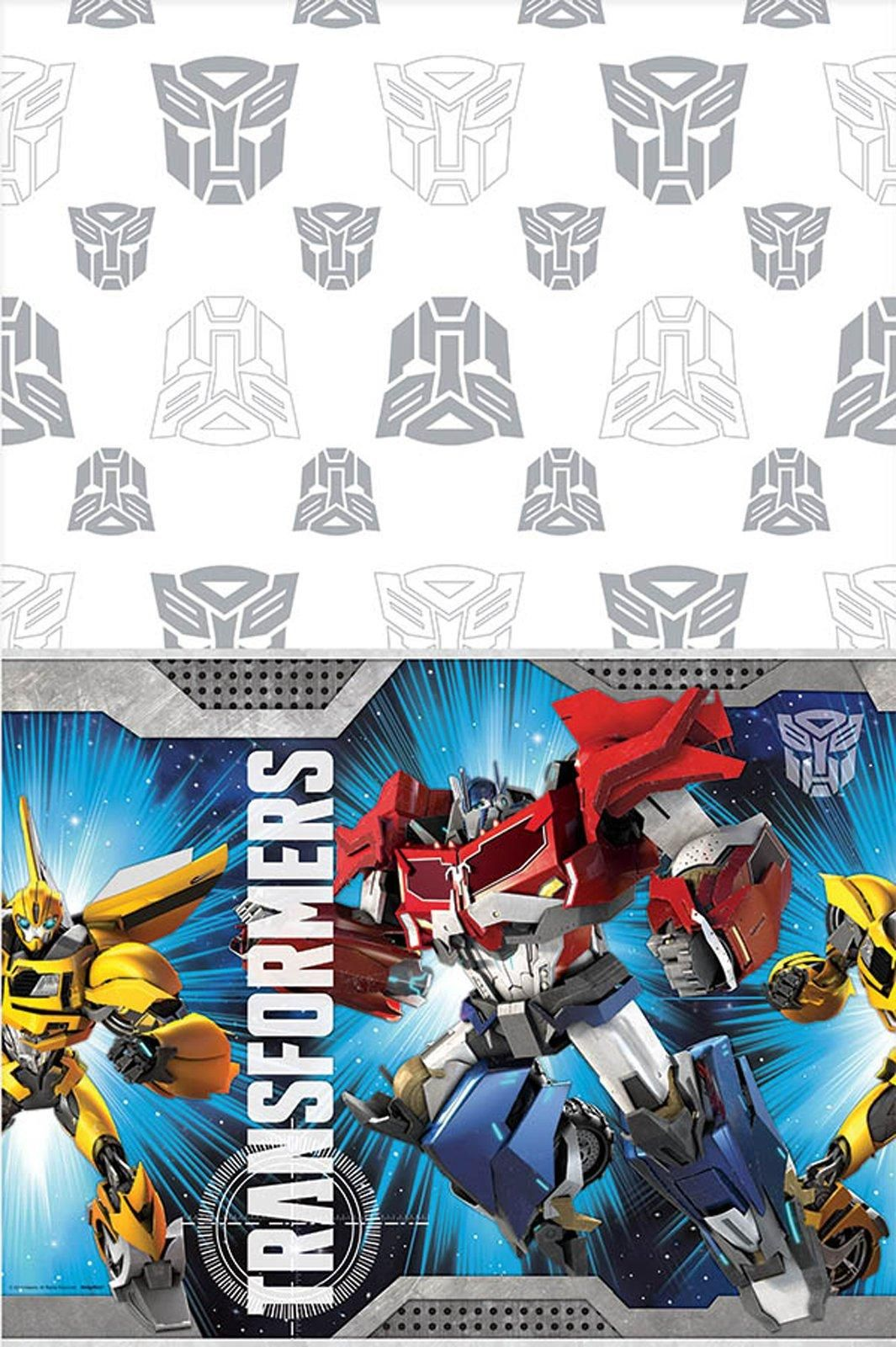 Cool party supplies transformers printed tablecover just added