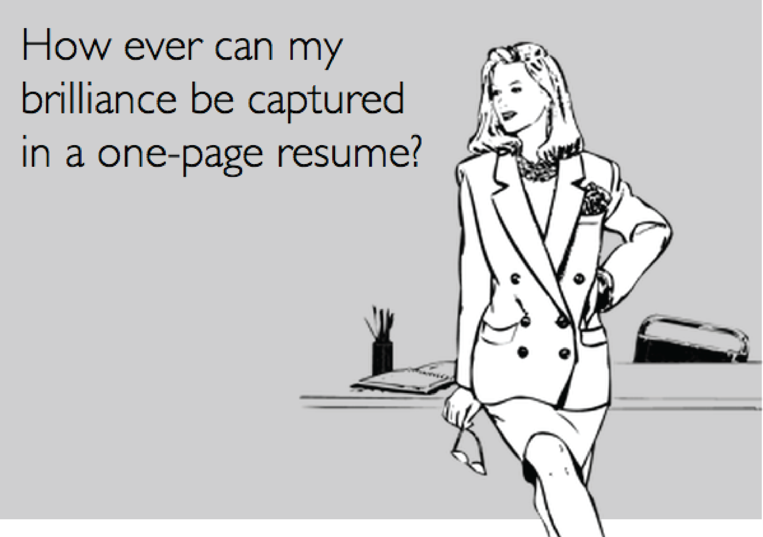 Your resume and cover letter are usually the first two things a ...