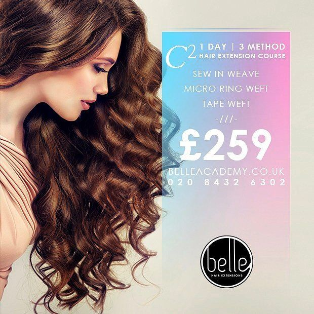 Belle Hair Extension Courses Centres Manchester By