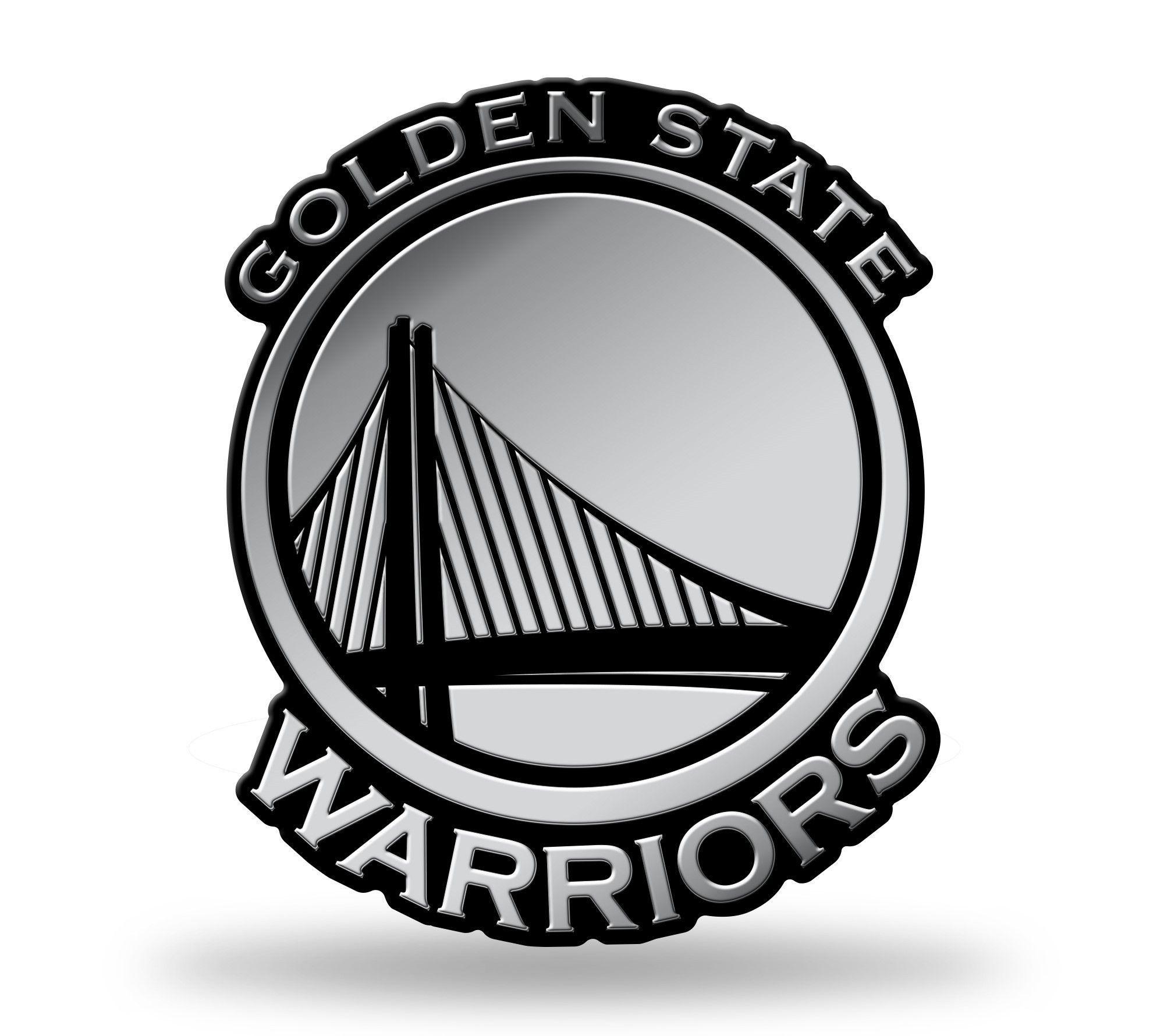 Golden State Warriors Logo 3D Chrome Auto Emblem NEW!! Truck or Car ...