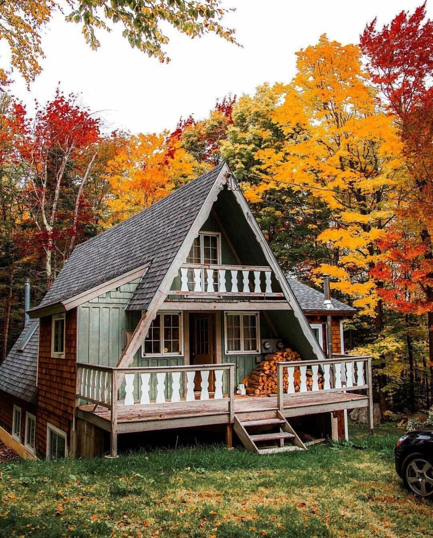 Peaceful cabin ~ Vermont Zoom MEME cabin, peaceful, Vermont https ...