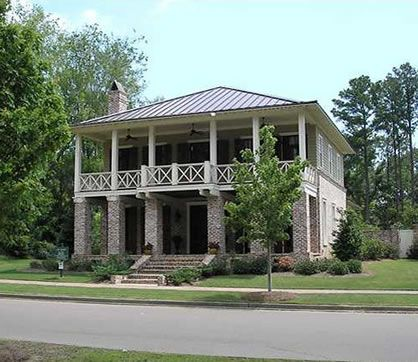 Southern House Plan With Three Porches Traditional 4