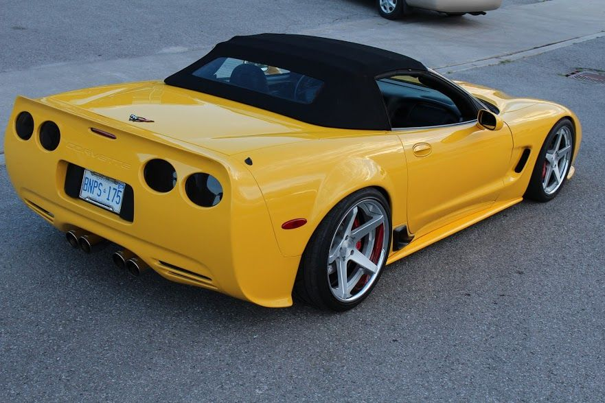 Chevy Corvette C5 360 Forged Wheels Head Turning Look Corvette Accessories Corvette Chevy Corvette