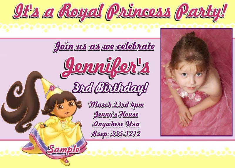 Nice Create Own Sample Birthday Invitation